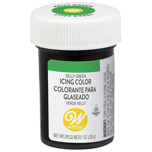 Kelly Green Gel Food Colouring Icing Color - just-little-luxuries