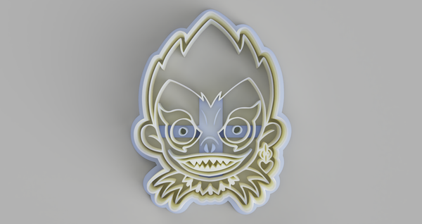 Ryuk (Death Note) Cookie Cutter - just-little-luxuries