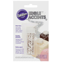 Wilton Edible Silver Star Accents - just-little-luxuries