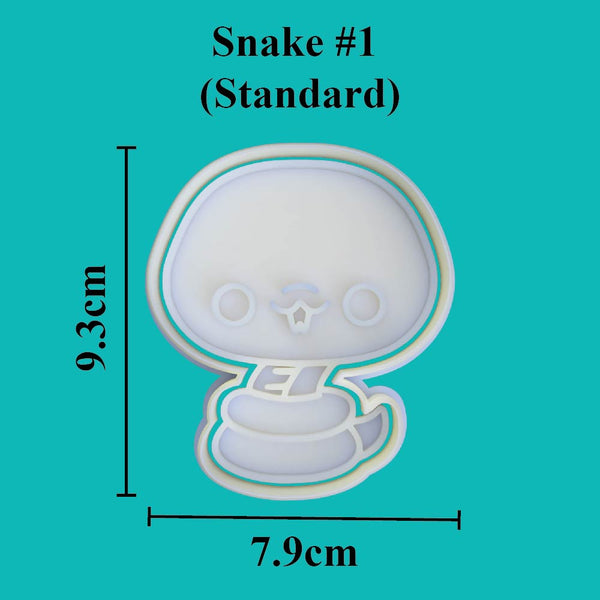 Kawaii Snake #1 Cookie Cutter - just-little-luxuries