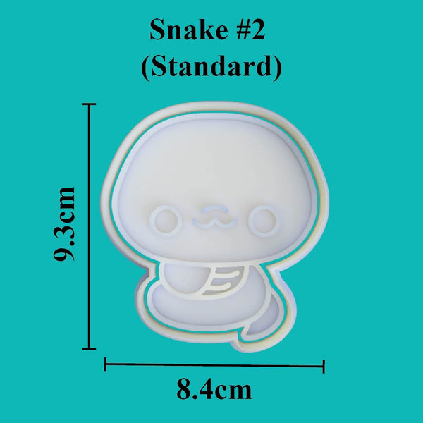 Kawaii Snake #2 Cookie Cutter - just-little-luxuries