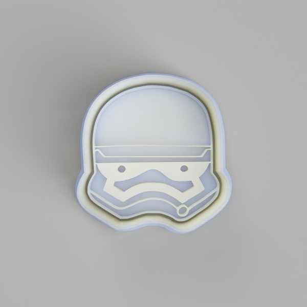 Stormtrooper Head Cookie Cutter - just-little-luxuries
