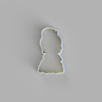 Chibi Tiana (The Princess and the Frog) Cookie Cutter