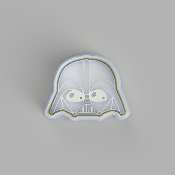 Darth Vader Head Cookie Cutter - just-little-luxuries