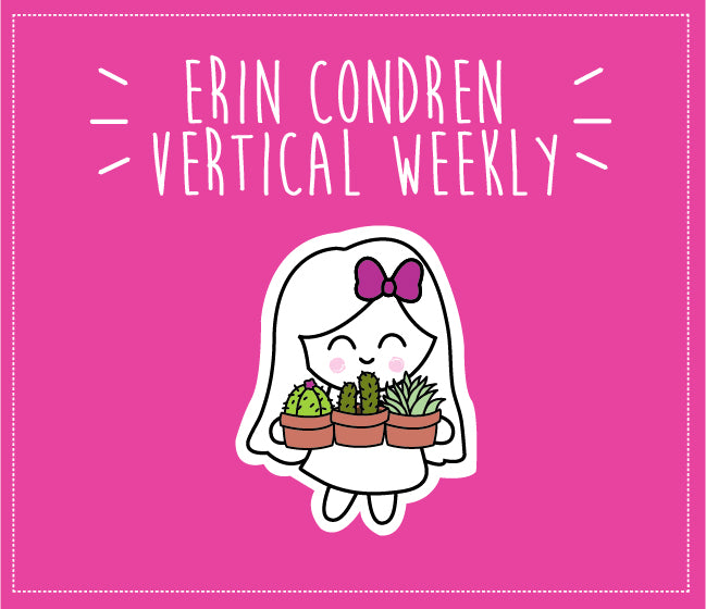 ERIN CONDREN VERTICAL WEEKLY