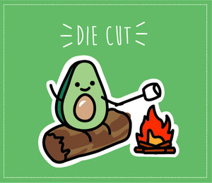 AVOCADO DIE CUT