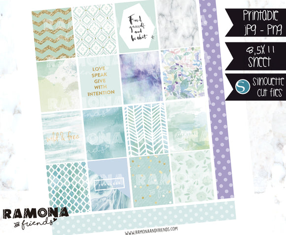 COD1131- Aesthetic stickers / Erin Condren planner stickers