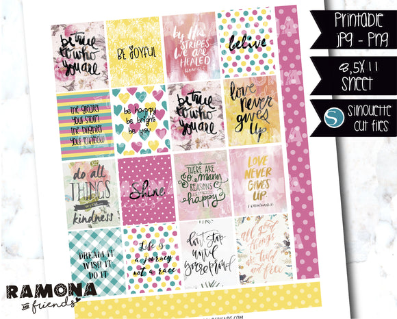 COD1178- Aesthetic stickers / Erin Condren planner stickers