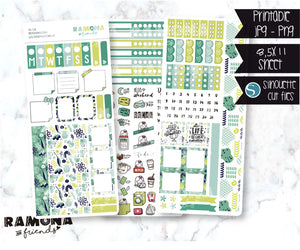 COD1228- Hobonichi week stickers / Hobo stickers