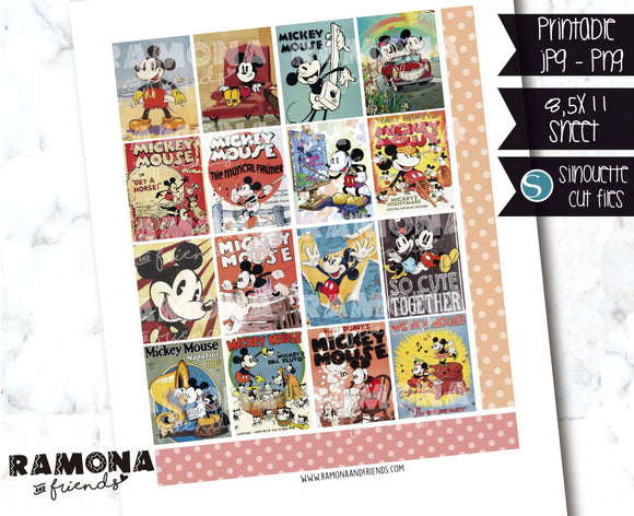 COD1242- Disney stickers / Erin Condren planner stickers