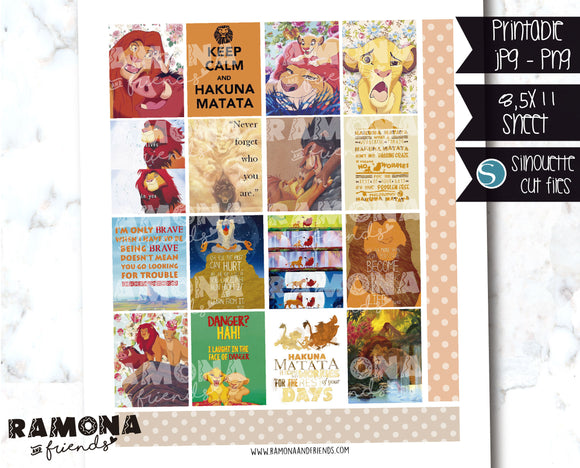 COD1246- Disney stickers / Erin Condren planner stickers