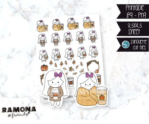 COD185-Fall Planner Stickers