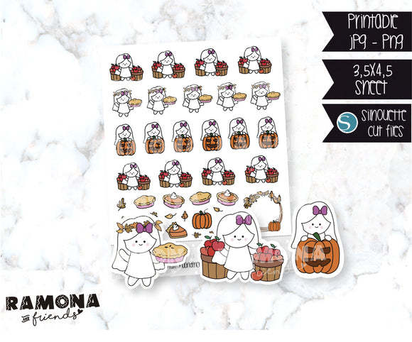COD189- Fall Planner Stickers