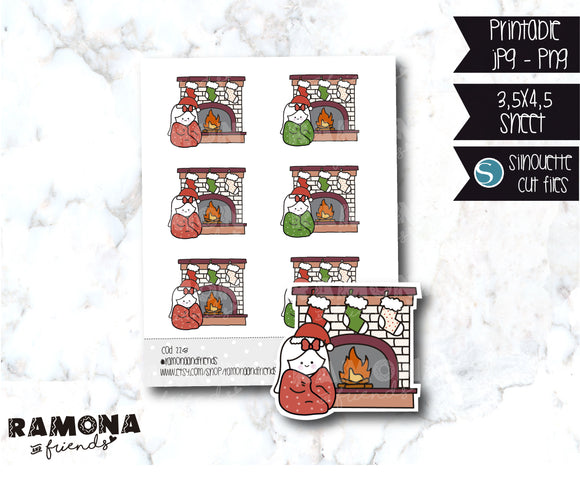COD228-Christmas Stickers