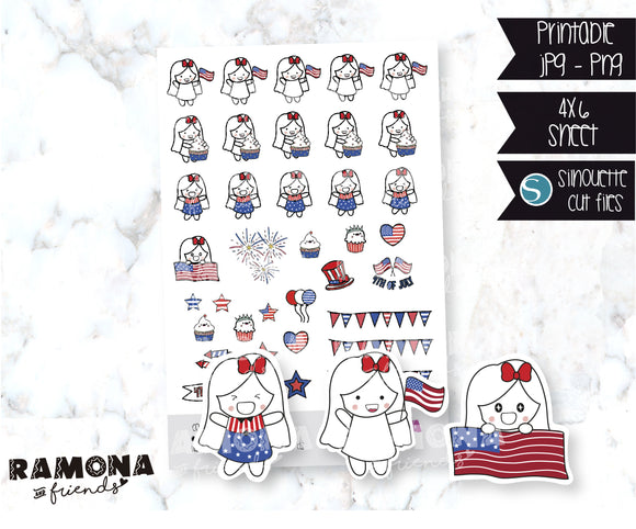 COD22-4th of July stickers-Holiday stickers