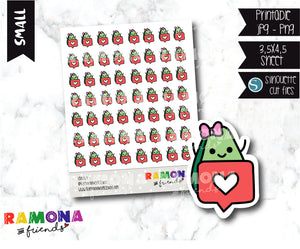 COD269-Avocado Planner stickers