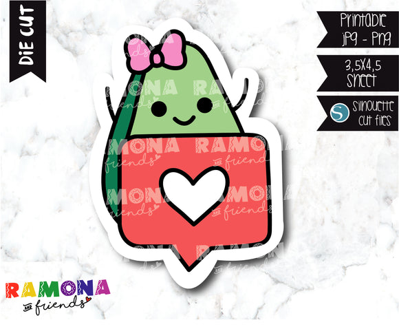 COD282-Avocado Planner stickers