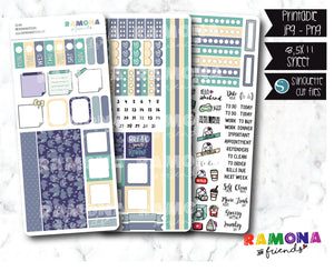 COD304- Hobonichi week stickers / Hobo stickers