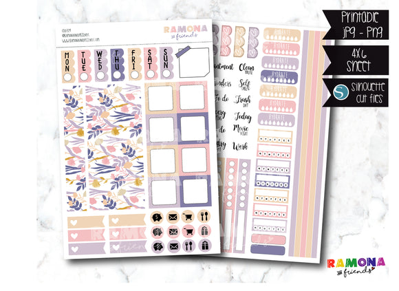 COD329- Hobonichi week stickers / Hobo stickers
