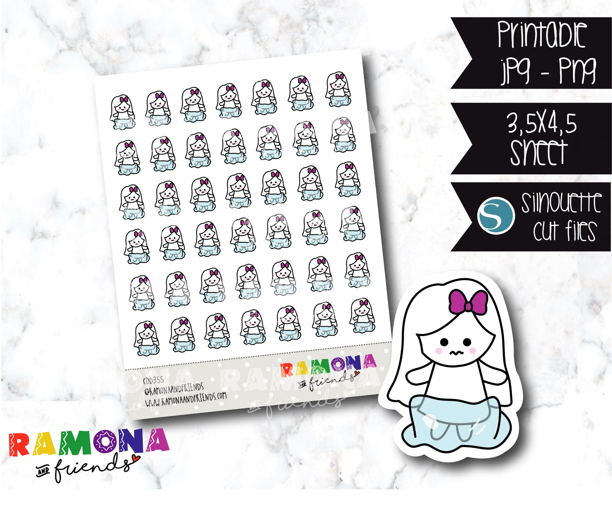 COD355-Winter stickers/cold stickers/frozen stickers