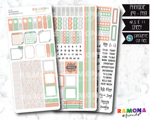 COD379- Hobonichi week stickers / Hobo stickers