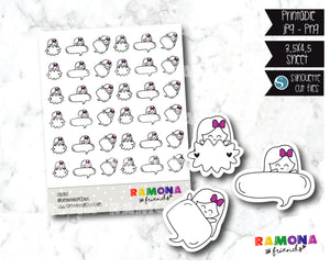 COD383-School stickers / notes stickers