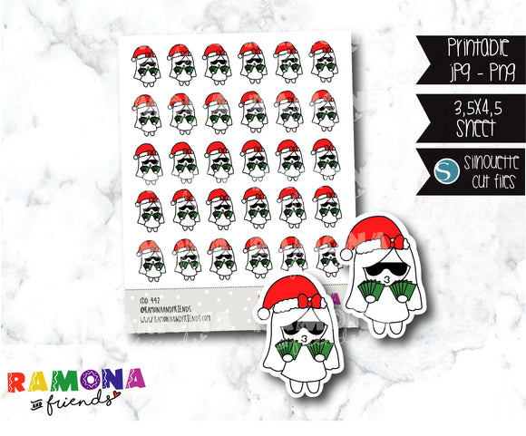 COD442-Christmas Stickers / Payday stickers