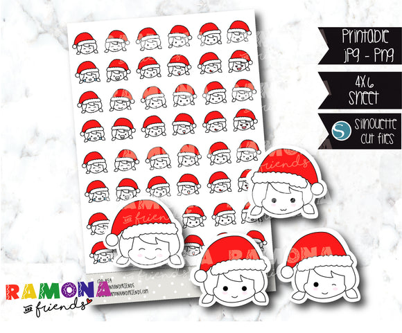 COD454-Christmas Stickers / emojis stickers