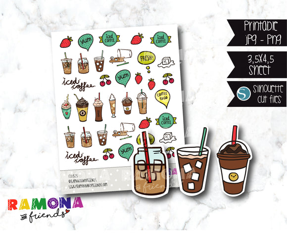 COD525-Coffee time stickers
