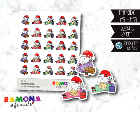 COD569-Christmas Stickers