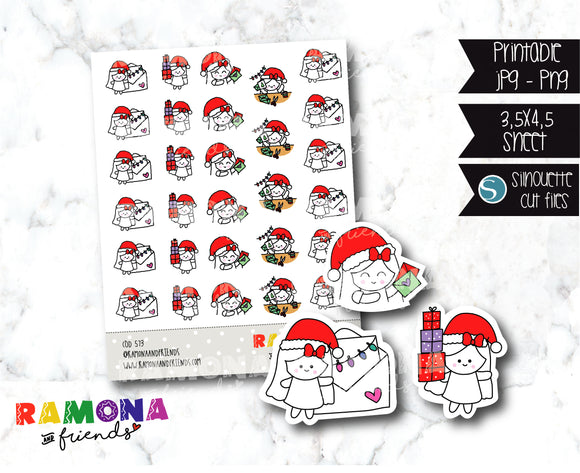COD573-Christmas Stickers
