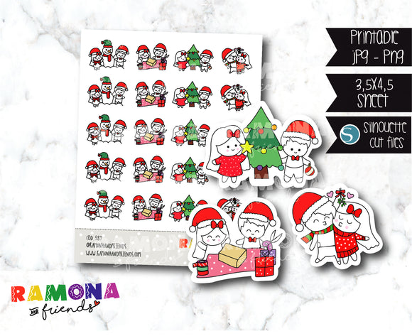 COD587-Christmas Stickers