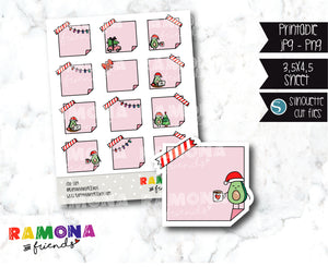 COD589-Christmas functional Stickers