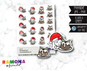 COD591-Christmas functional Stickers