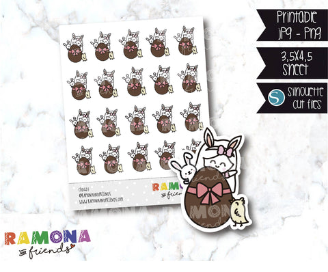 COD607-Easter stickers / Bunny Stickers
