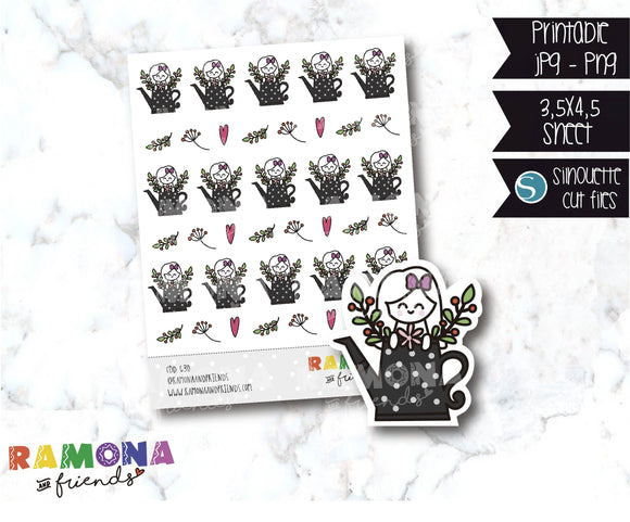 COD630- Spring stickers / Flowers stickers