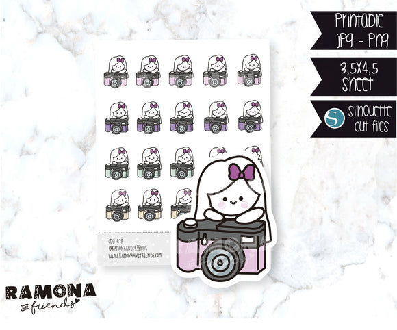 COD678-Camara stickers/Instagram stickers