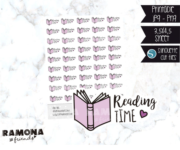 COD785-Reading time stickers