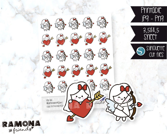 COD801-Love stickers/heart stickers