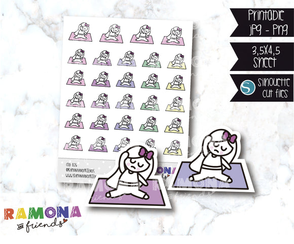 COD826-Fitness stickers