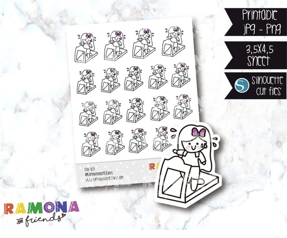 COD827-Fitness stickers