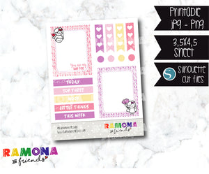 COD869- Love stickers / Love planner stickers