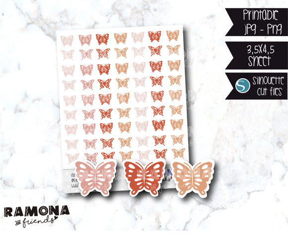 COD917- Butterfly stickers