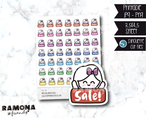 COD970-Sale stickers / Shopping stickers