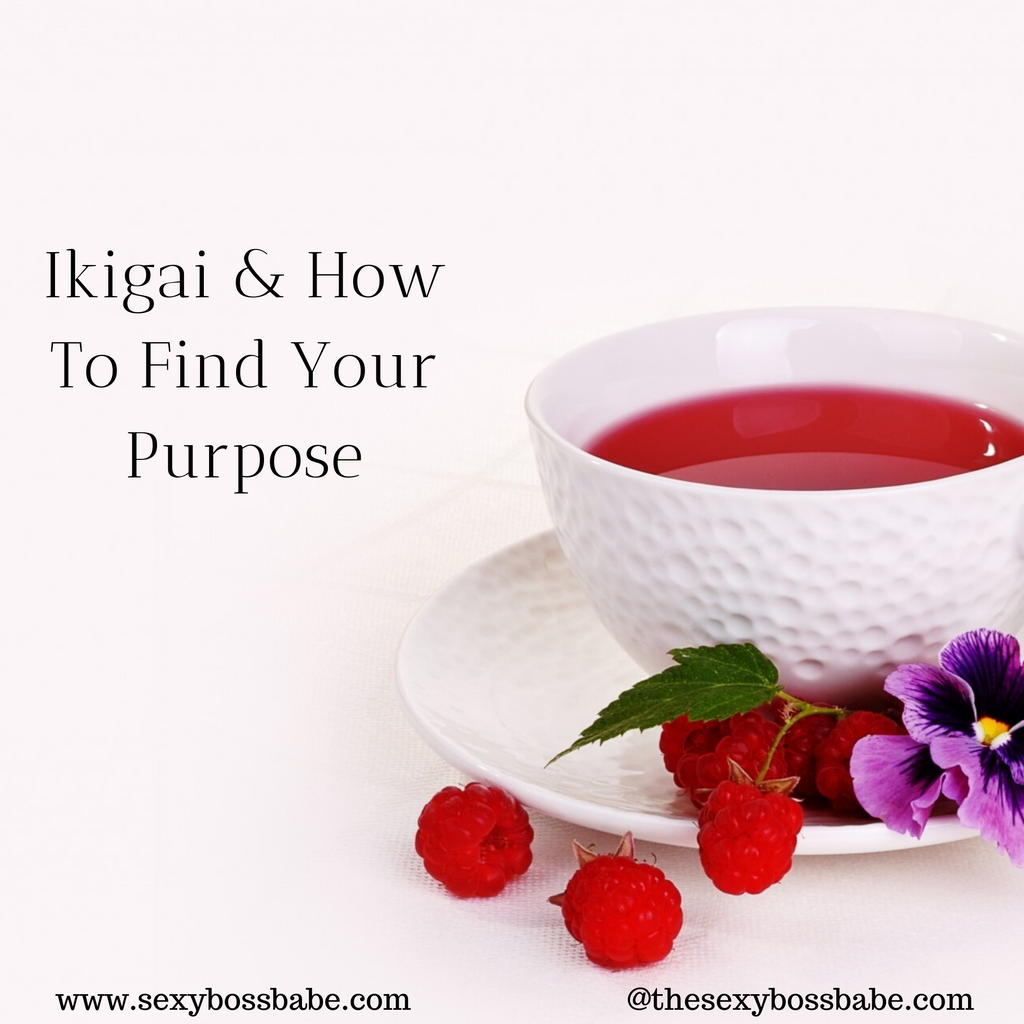 IKIGAI & HOW TO FIND YOUR PURPOSE