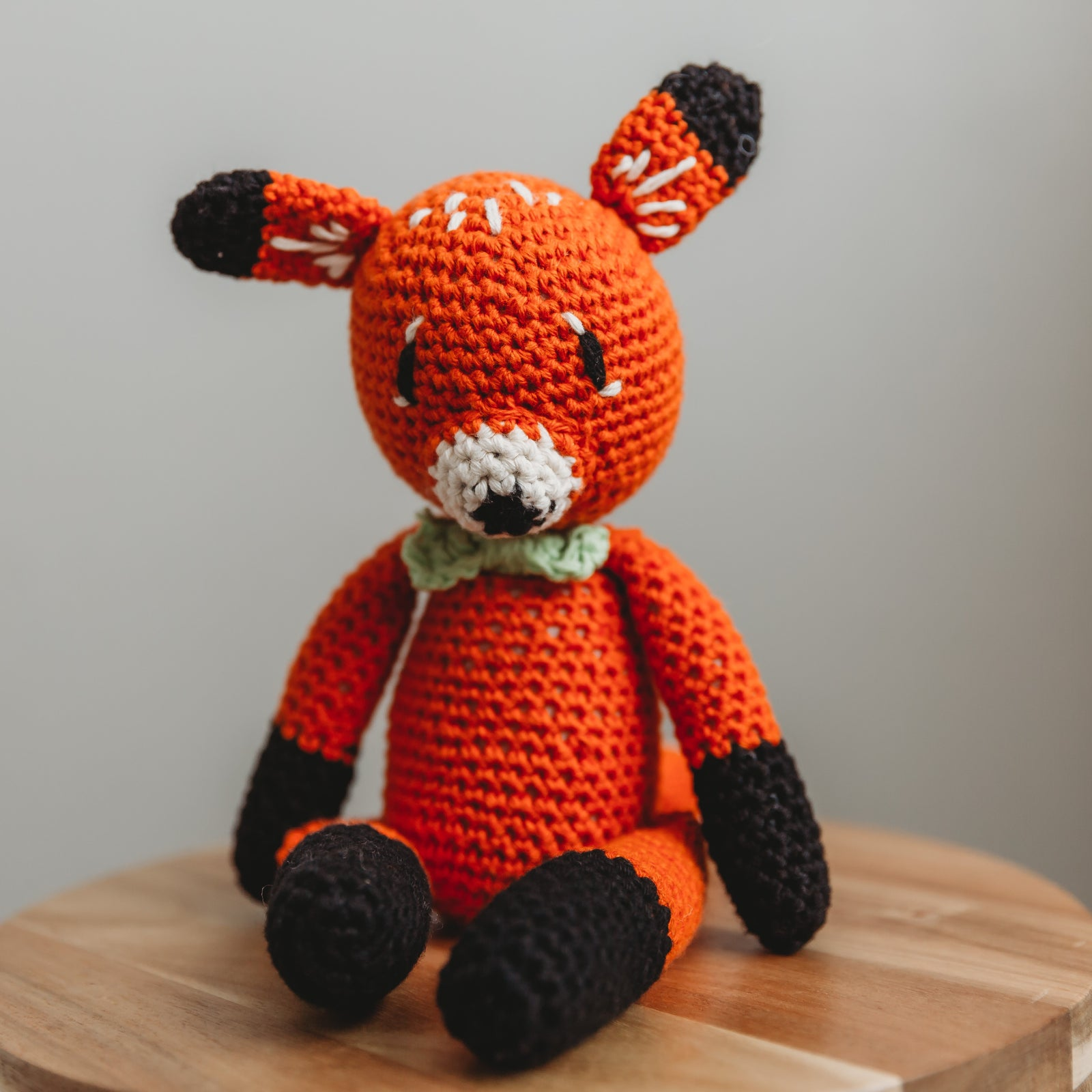 Francisco Knitted Fox
