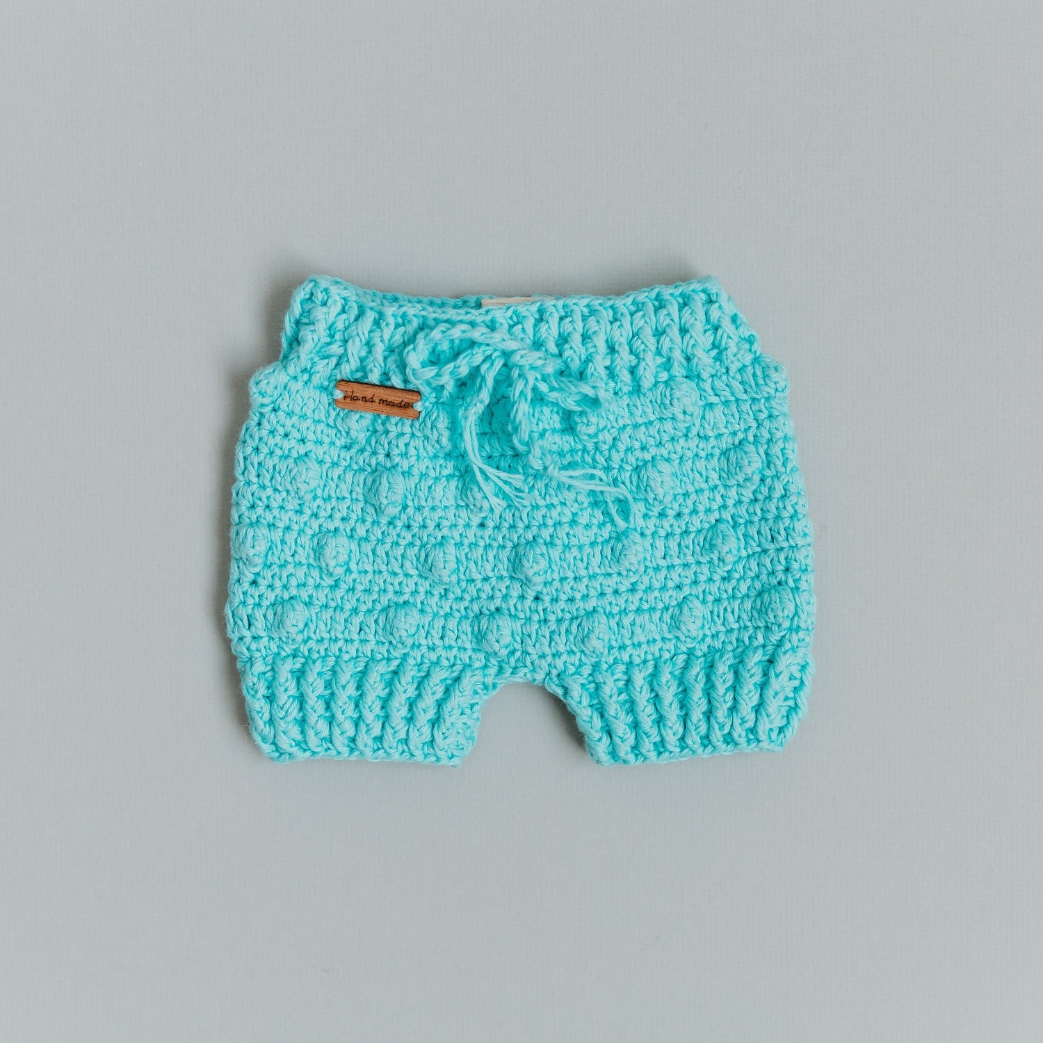 Popcorn Knitted Shorties