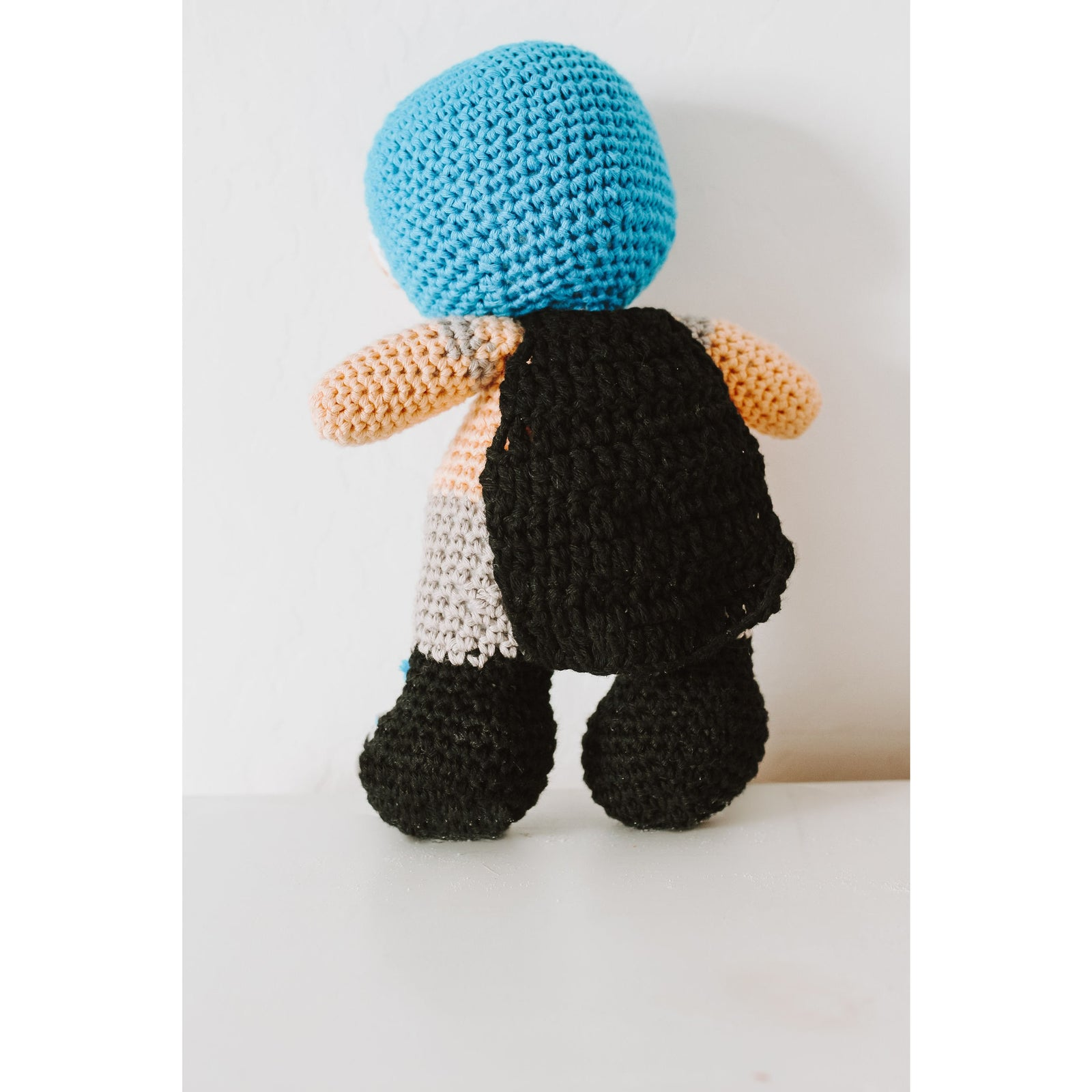 Knitted Luchador