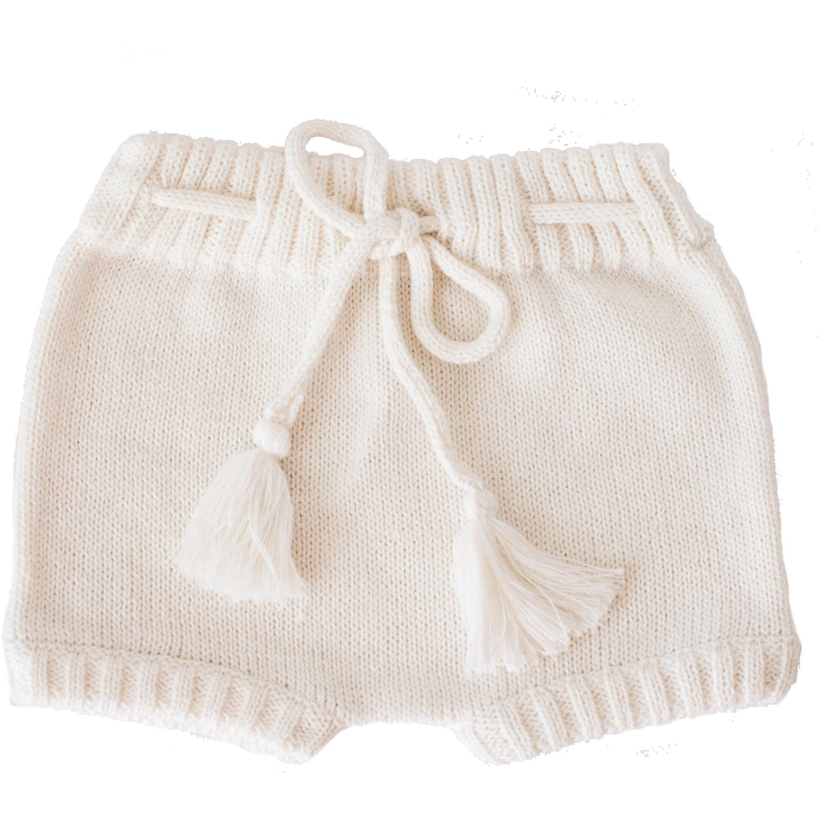 Ivory Knitted Shorties