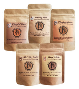 Pepper Tree Seasonings 1oz Variety Pack